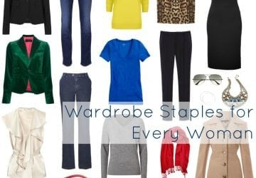 The Staples For Every Woman's Wardrobe