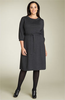 wool dress tall boot