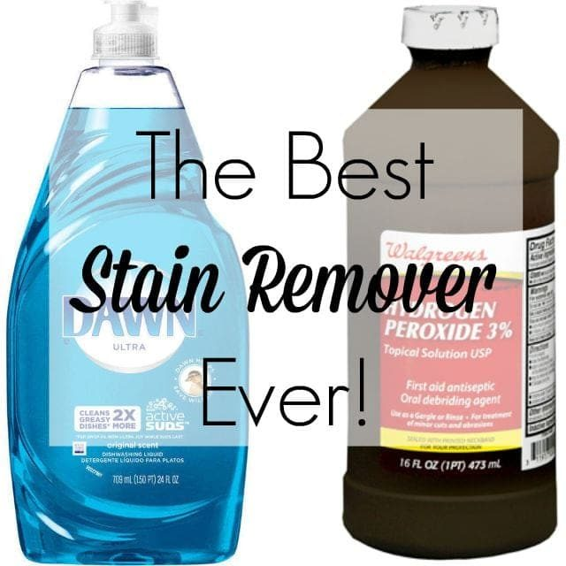 Homemade Stain Remover Dawn Peroxide Car Interior Design