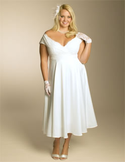 Christelle IGIGI Plus Size Wedding Dress