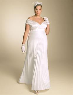 IGIGI Eveline Plus Size Wedding Dress