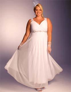 IGIGI White Diamonds Plus Size Wedding Dress