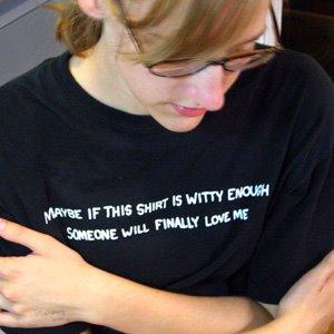 Witty tee shirt