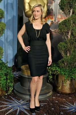 Kate Winslet Tailored Dress