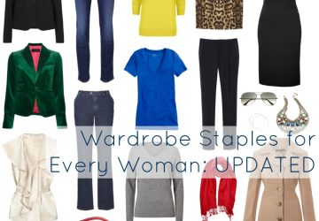 The Staples for Every Woman's Wardrobe – Updated for the Next Decade