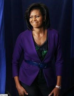 michell obama cardigan belt