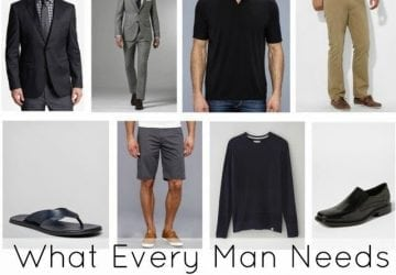 What Every Man Needs in His Wardrobe – Updated for 2010