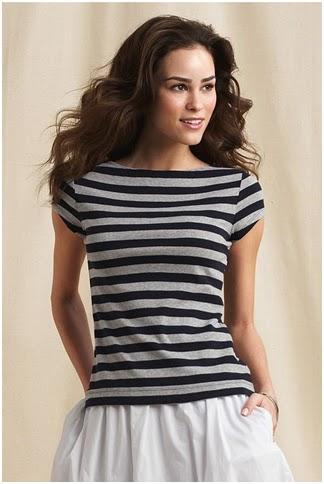 lands end canvas stripe shirt