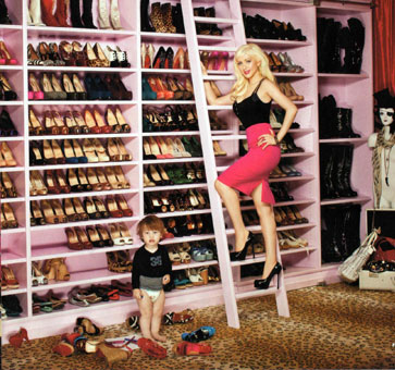 biggest shoe collection