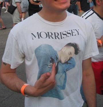 morrissey tee shirt