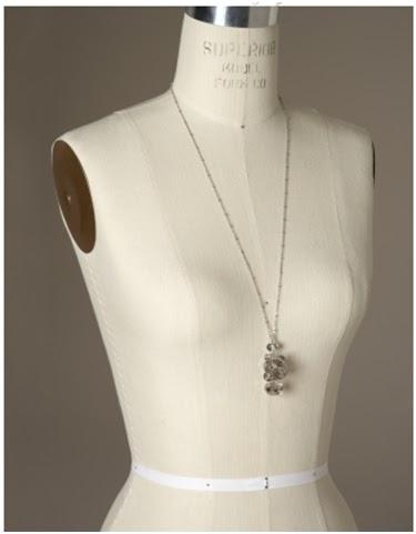 smoke crystal necklace