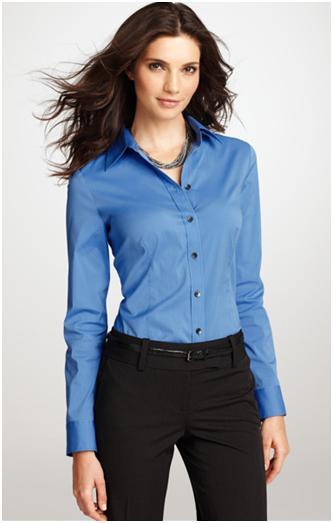 perfect cotton shirt ann taylor