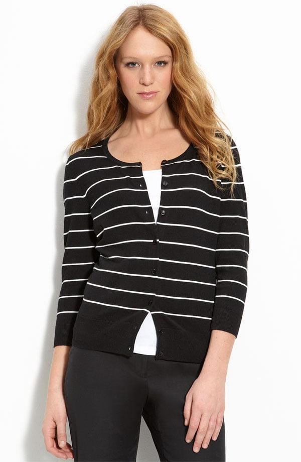 halogen stripe cardigan