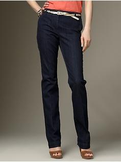 talbots Signature Fit Stretch denim trouser jeans