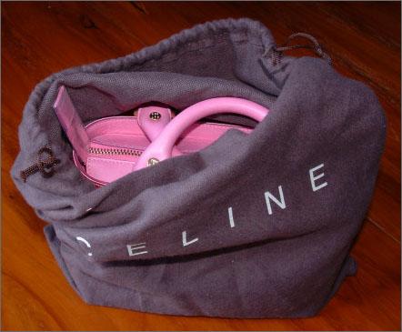 celine dust bag