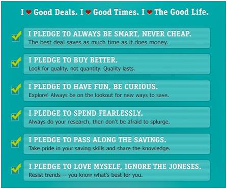 savings pledge