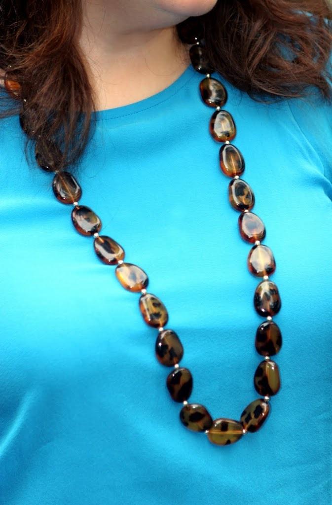 tortoiseshell necklace