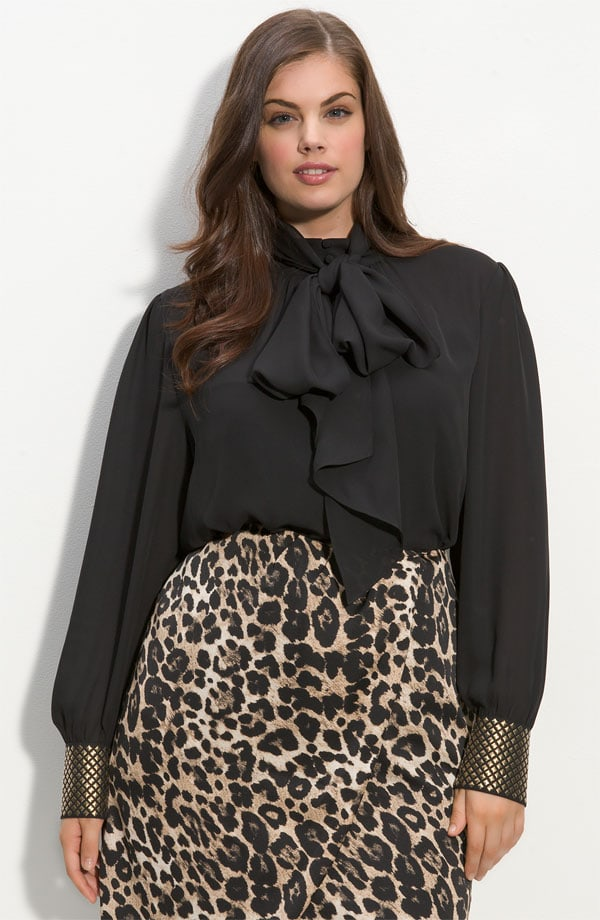 17788607c38 Tie Neck Studded Blouse –  109. While the Vince Camuto ...