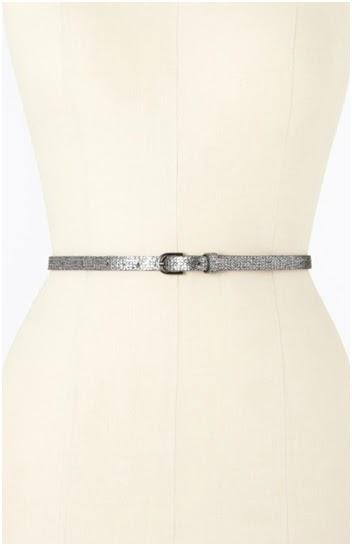 ann taylor perfect skinny belt