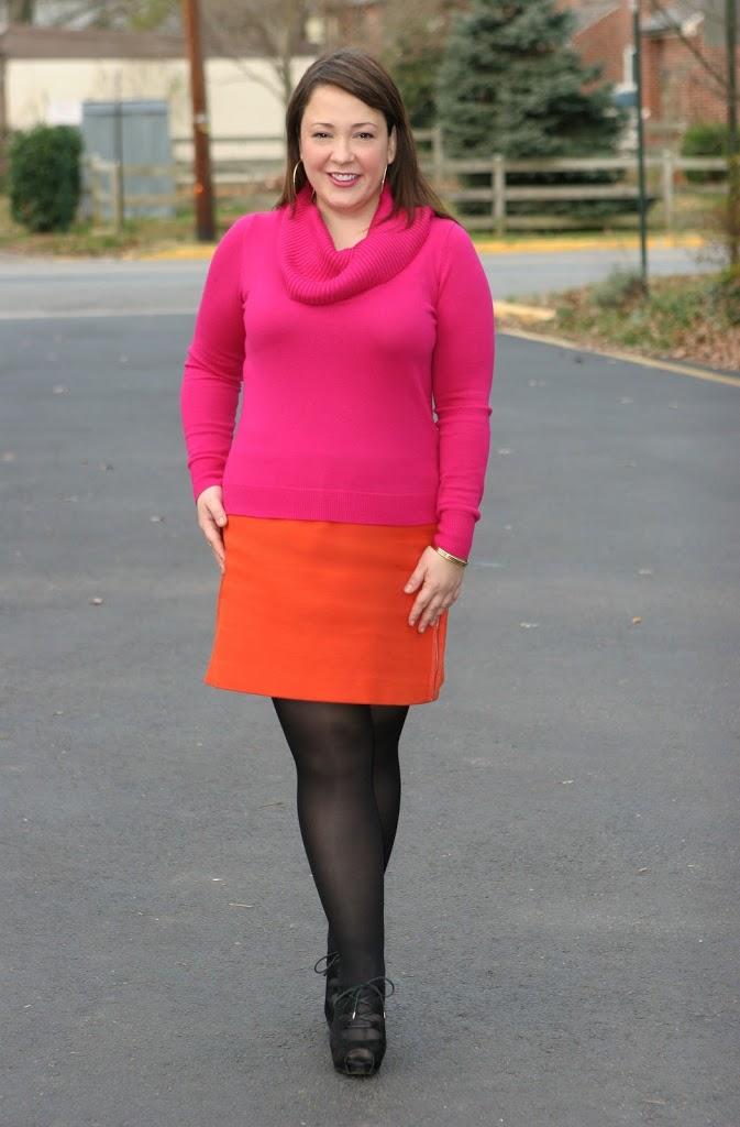 alison gary pink sweater