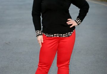 Wednesday – Black and White and Red All Over