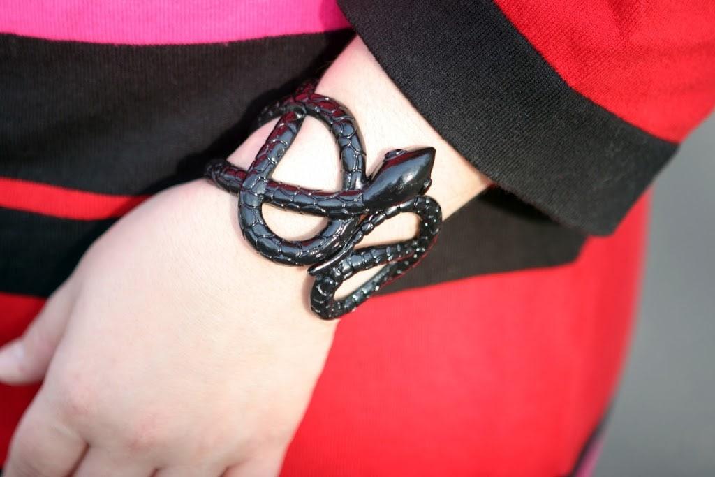 baublebar snake bracelet cuff