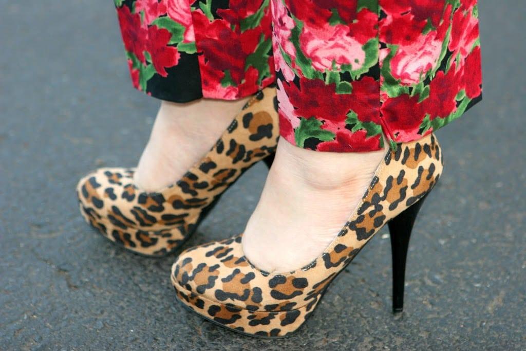 leopard pumps