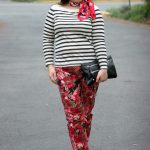 Thursday – Florals and Stripes