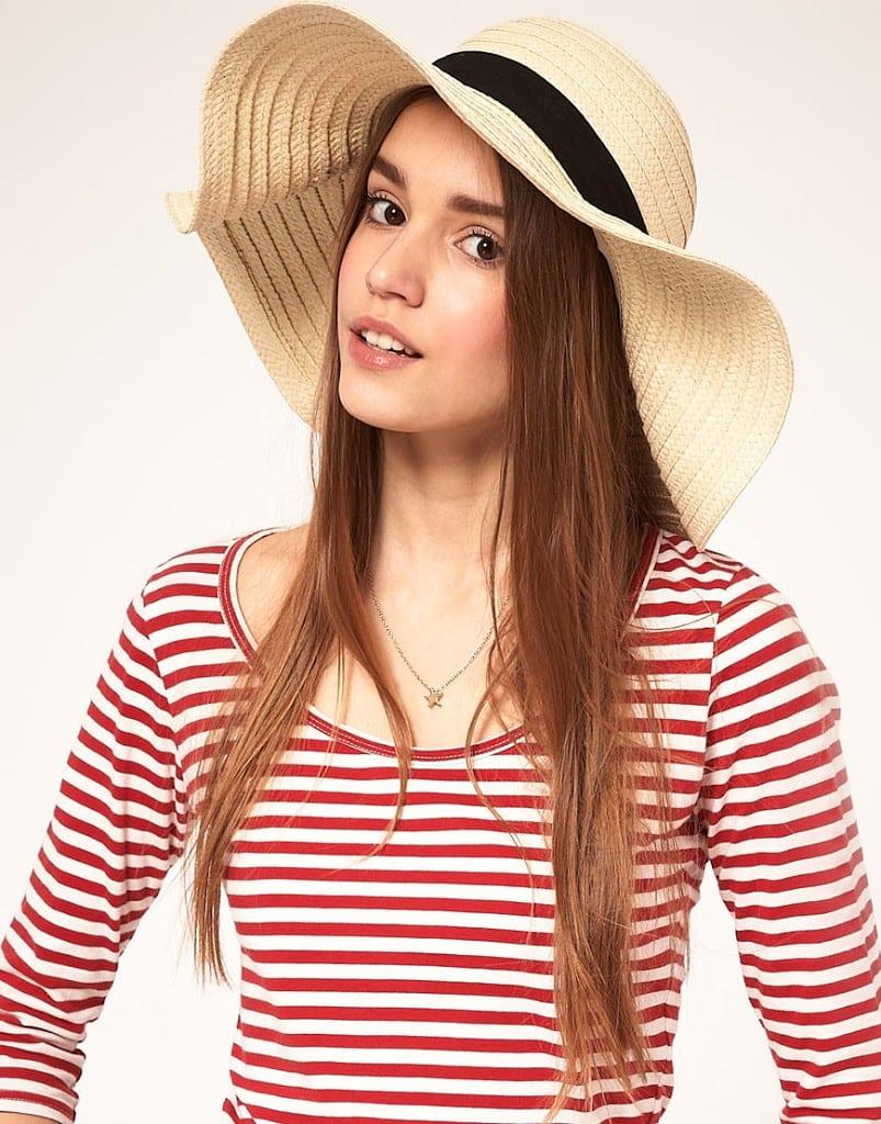 ASOS 70s straw hat