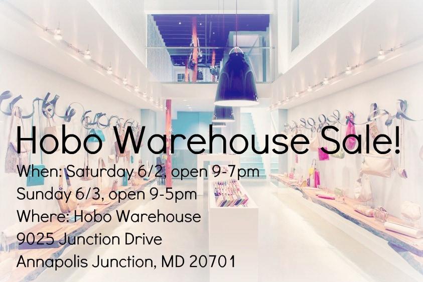 Hobo Warehouse Sale 2012