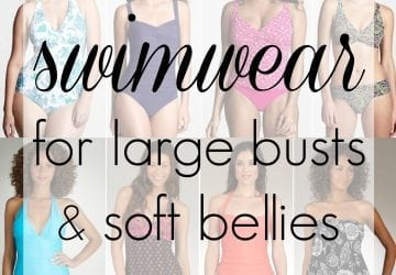 Swimwear for Large Busts and Soft Bellies