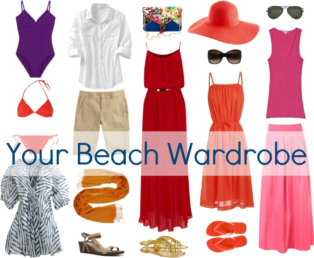 Beach Vacation Packing Checklist Use this cheat sheet to remind yourself of what you need to pack (beyond clothes, of course!).