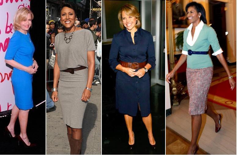 newscaster fashion