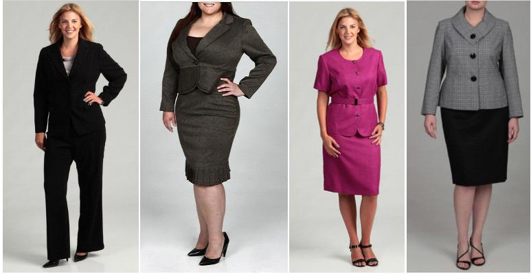 overstock plus size suiting