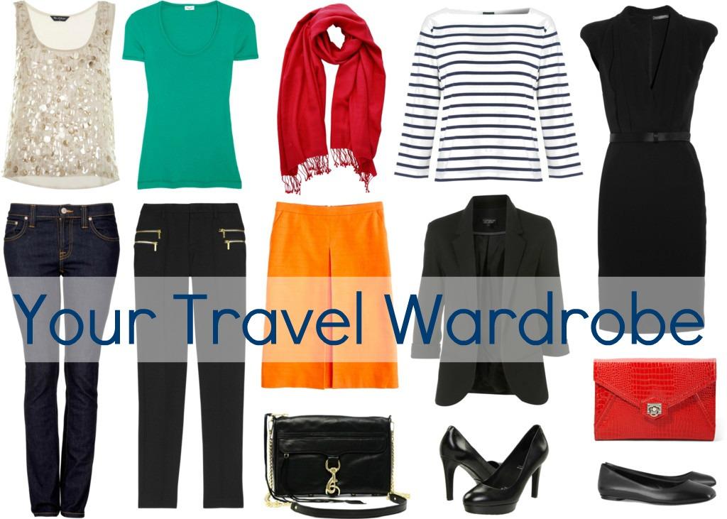 perfect travel wardrobe