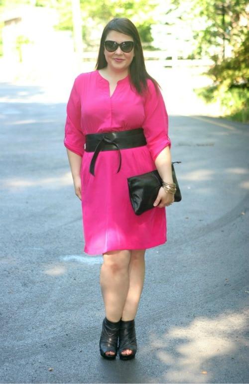 pink old navy dress