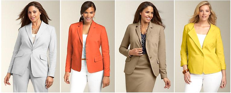 talbots plus size suiting