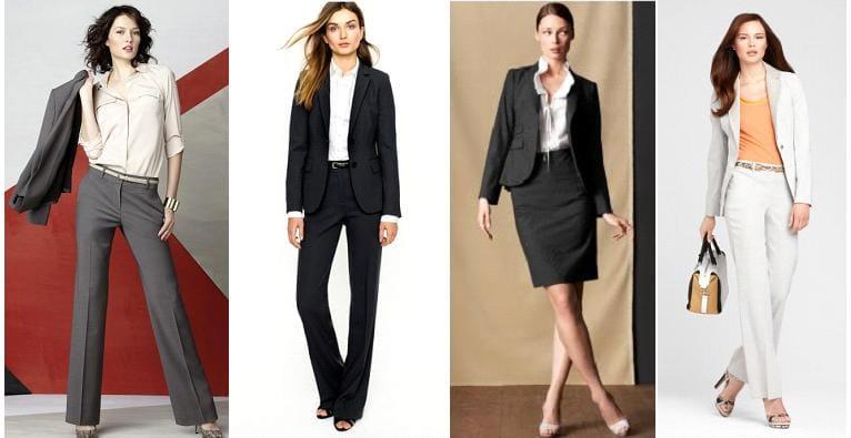 Женские деловые костюмы 2017