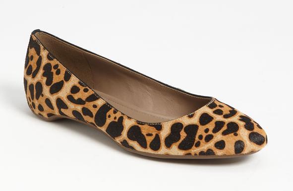 ECCO Mary Ballerina Flat Leopard