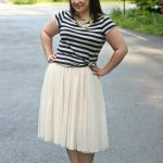 Monday – Ballerina Skirt with Stripes