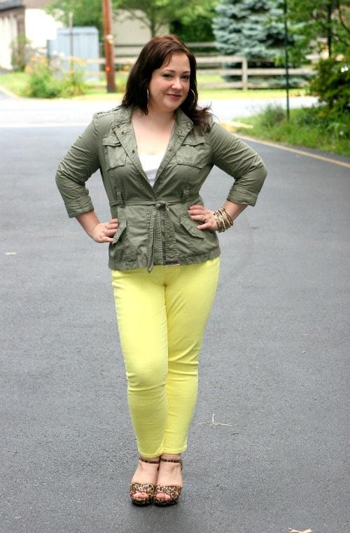 cabi limon cropped jean