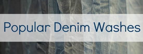 denim washes