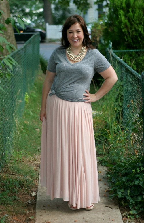 ann taylor maxi skirt