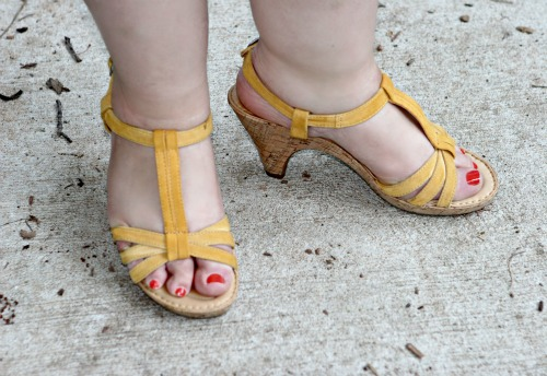 born myndy sandal shoes