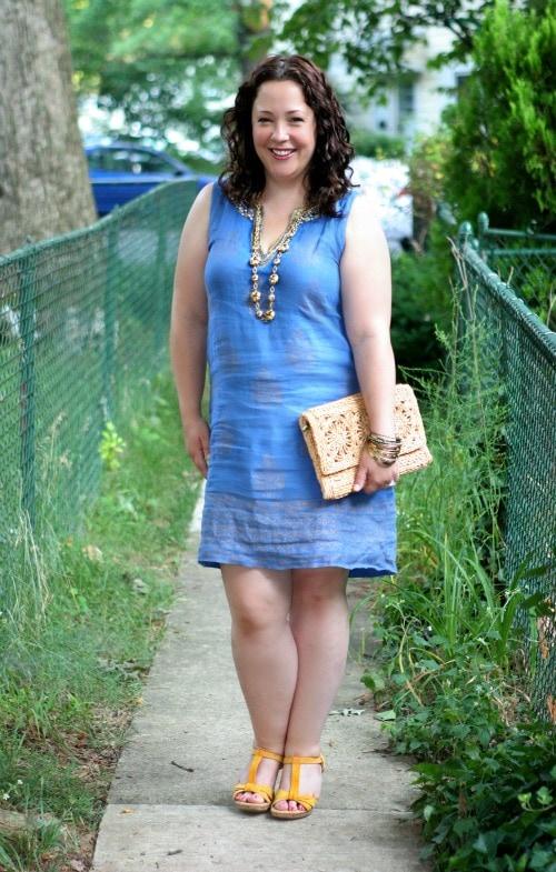 soft surroundings linen dress