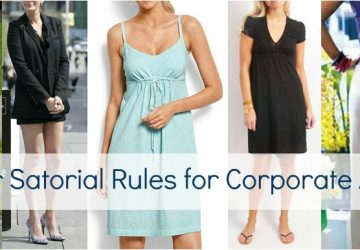 Summer Sartorial Rules for Corporate America