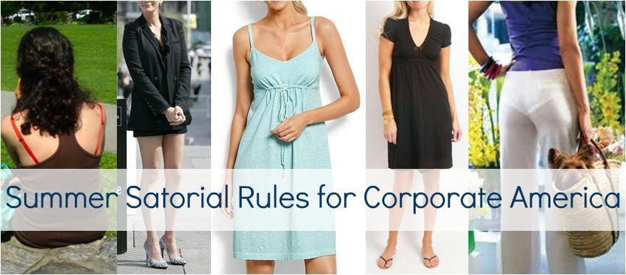 summer office fashion mistakes