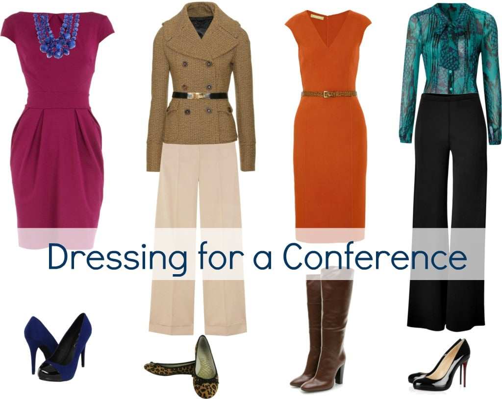 dressing for a conference