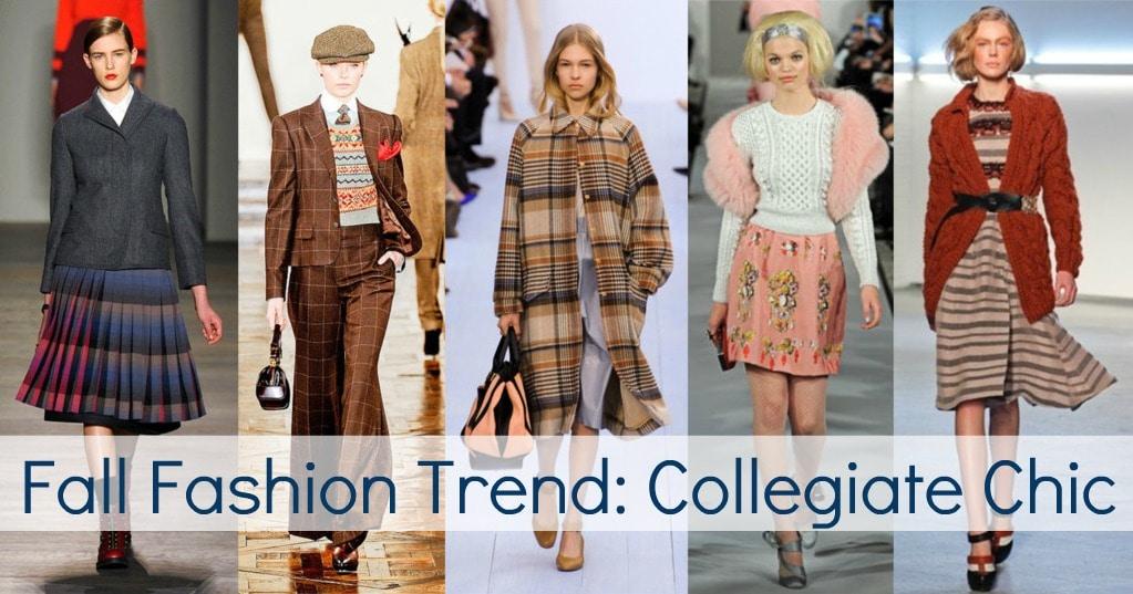 fall 2012 fashion trend college collegiate plaid knit
