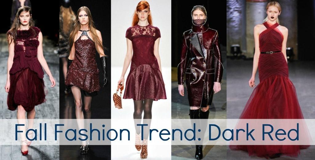 fall 2012 fashion trend oxblood burgundy red